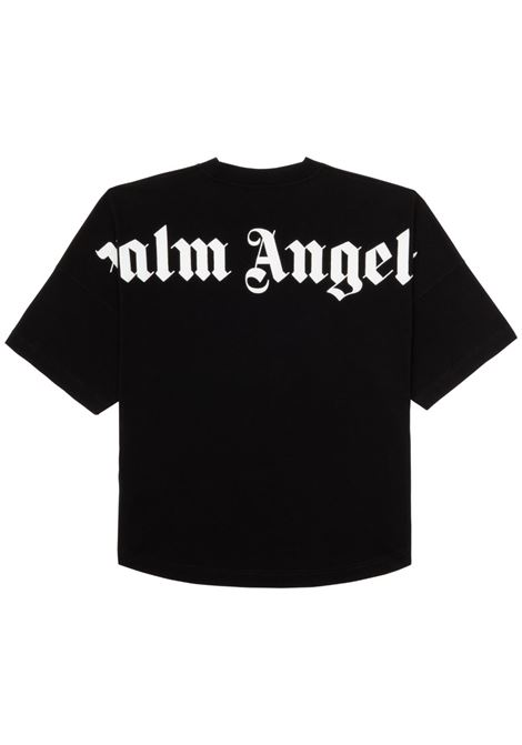 T-shirt nera PALM ANGELS | T-SHIRT | PMAA002R21JER0011001