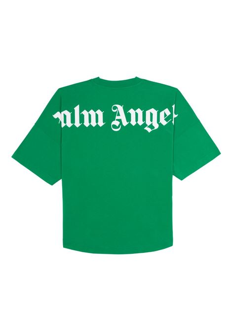 T-shirt verde PALM ANGELS | T-SHIRT | PMAA002R21JER0015701