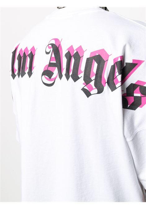 T-shirt bianca PALM ANGELS   T-SHIRT   PMAA002S21JER0040132
