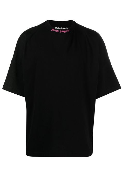 T-shirt nera PALM ANGELS | T-SHIRT | PMAA002S21JER0041032