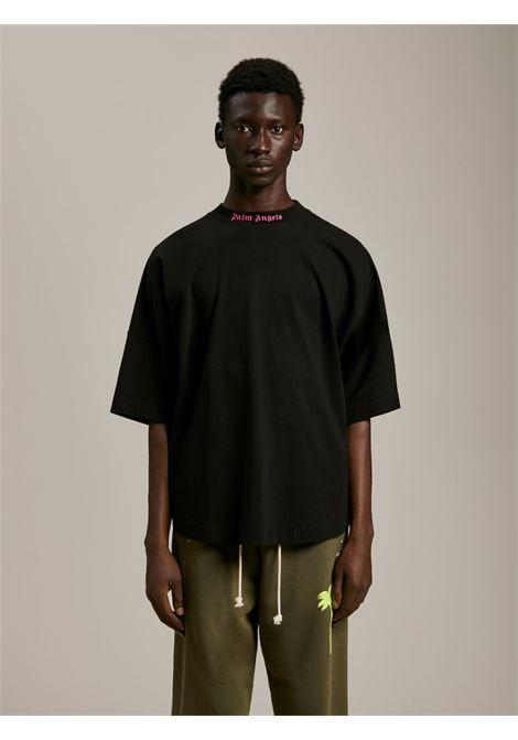 T-shirt nera PALM ANGELS   T-SHIRT   PMAA002S21JER0041032