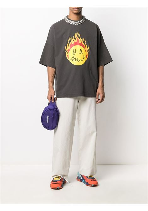 Black t-shirt PALM ANGELS |  | PMAA041R21JER0011018