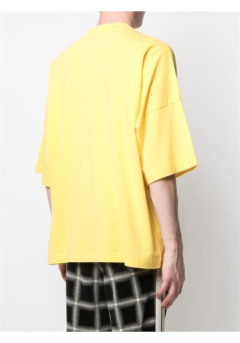 T-shirt gialla PALM ANGELS | T-SHIRT | PMAA041S21JER0011810