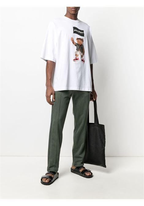 T-shirt bianca PALM ANGELS | PMAA041S21JER0060101