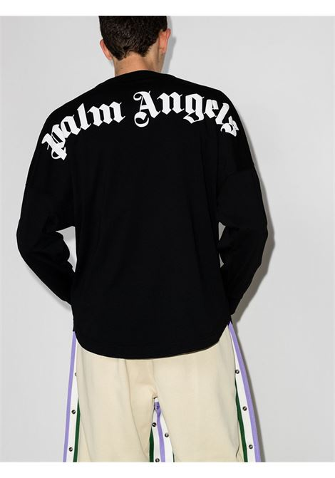 T-shirt nera PALM ANGELS | T-SHIRT | PMAB001R21JER0011001