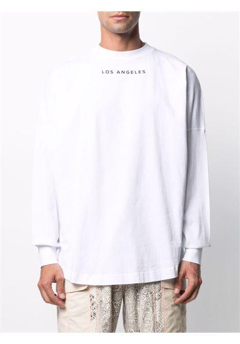 White t-shirt PALM ANGELS | T-SHIRT | PMAB001S21JER0020118