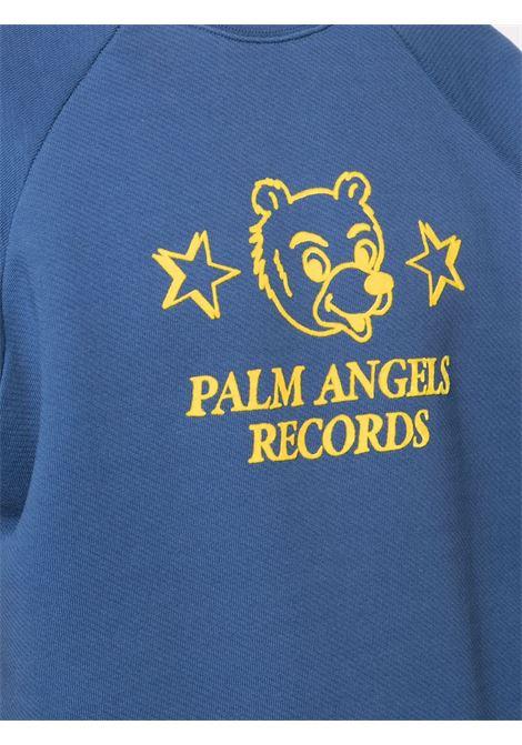 Felpa blu PALM ANGELS | FELPE | PMBA005R21FLE0014618