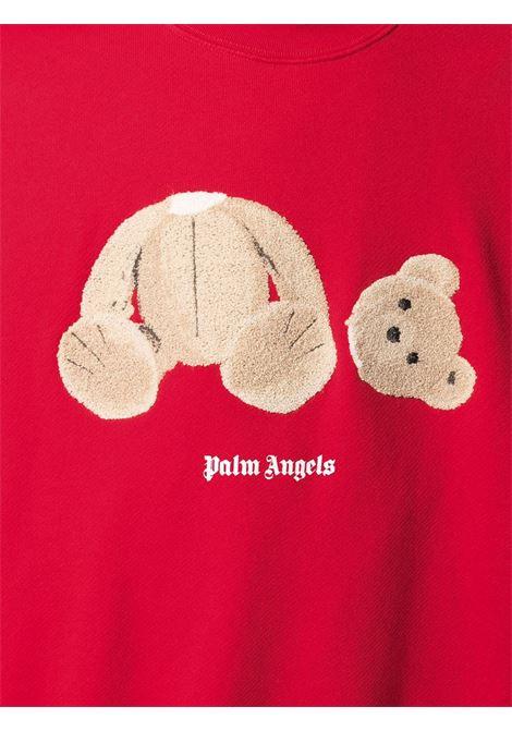 Felpa rossa PALM ANGELS | FELPE | PMBA026R21FLE0012560