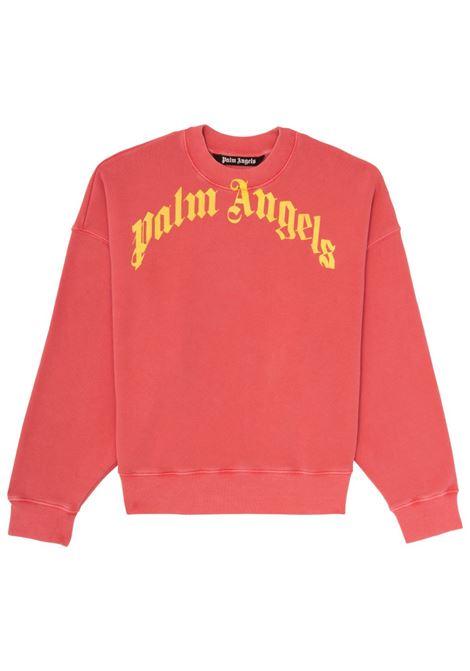 Felpa rossa PALM ANGELS | FELPE | PMBA026R21FLE0062518