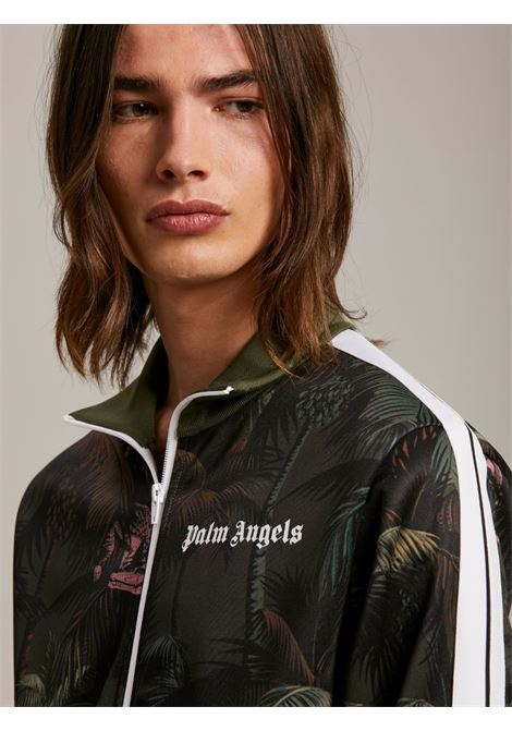 Giacca verde PALM ANGELS | GIACCHE | PMBD001S21FAB0015556