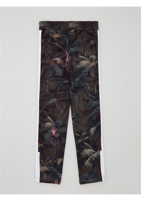 Pantalone verde PALM ANGELS | PANTALONI | PMCA007S21FAB0015556