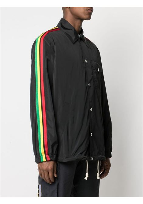 Black jacket PALM ANGELS | JACKETS | PMEA076S21FAB0021084