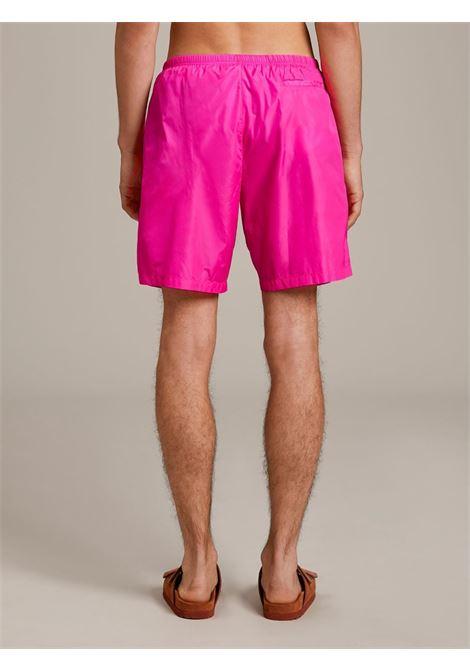 Beachwear rosa PALM ANGELS | BOXER DA MARE | PMFA005S21FAB0043210