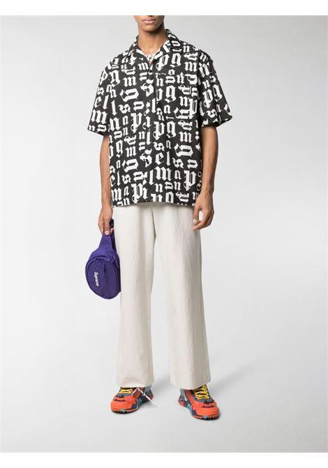 Black/white shirt PALM ANGELS |  | PMGA037R21FAB0021001