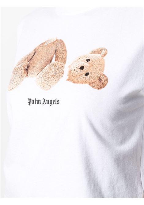 White t-shirt PALM ANGELS |  | PWAA020S21JER0010160