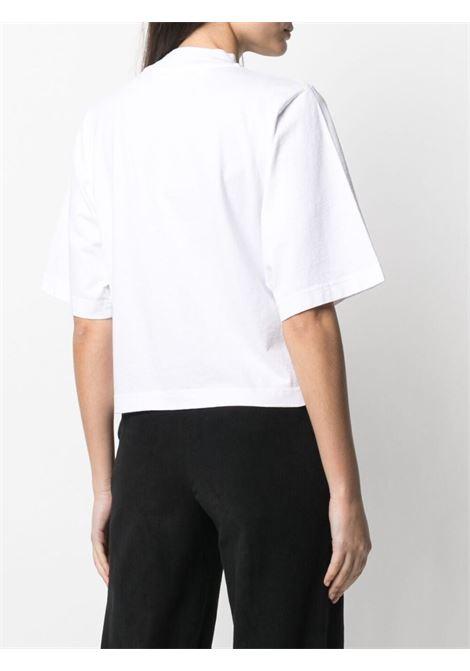 T-shirt bianca PALM ANGELS | T-SHIRT | PWAA020S21JER0010160