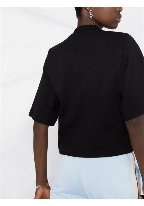 Black t-shirt PALM ANGELS |  | PWAA020S21JER0011060