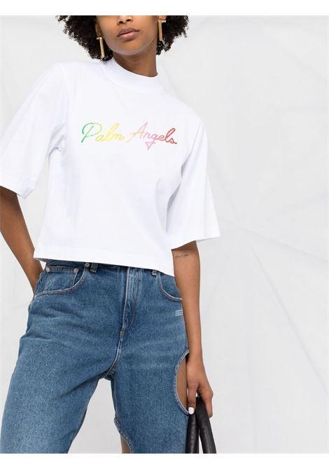 White t-shirt PALM ANGELS |  | PWAA020S21JER0030184