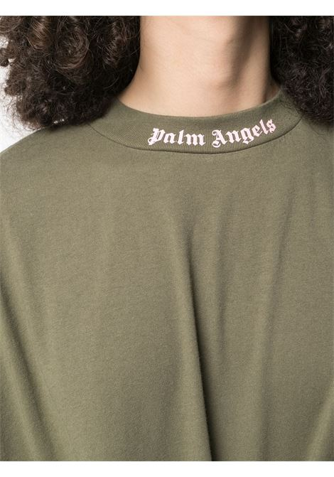 Green t-shirt PALM ANGELS |  | PWAA023S21JER0015630
