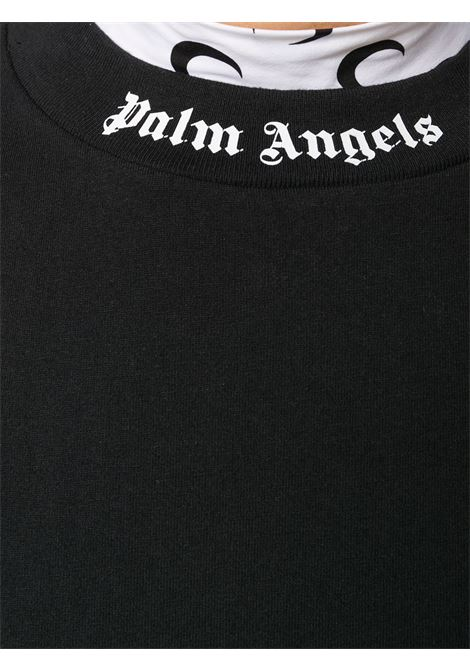 T-shirt nera PALM ANGELS | T-SHIRT | PWAA023S21JER0031001