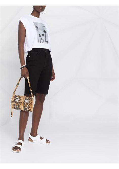 White t-shirt PALM ANGELS | T-SHIRT | PWAA038S21JER0030110