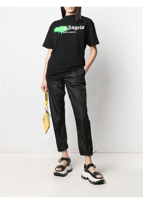 T-shirt nera PALM ANGELS | T-SHIRT | PWAA039S21JER0021070