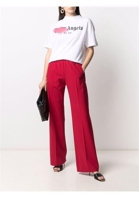 T-shirt bianca PALM ANGELS | T-SHIRT | PWAA039S21JER0030168