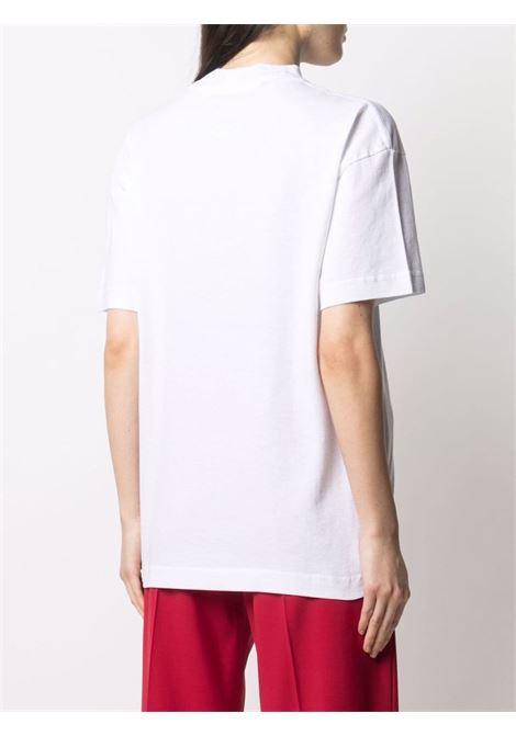 White t-shirt PALM ANGELS |  | PWAA039S21JER0030168