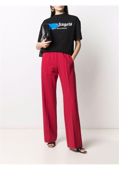 T-shirt nera PALM ANGELS | T-SHIRT | PWAA039S21JER0041069