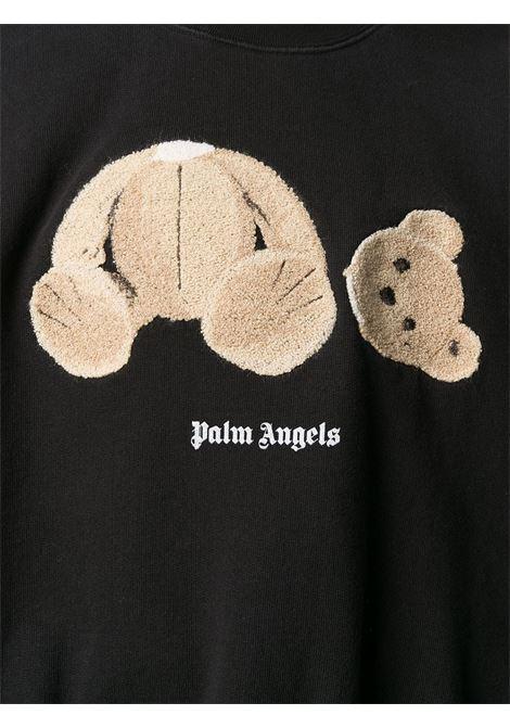 Felpa nera PALM ANGELS | FELPE | PWBA017S21FLE0071060