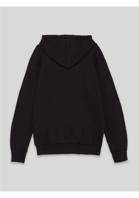 Black sweatshirt PALM ANGELS | SWEATSHIRTS | PWBB023S21FLE0091068