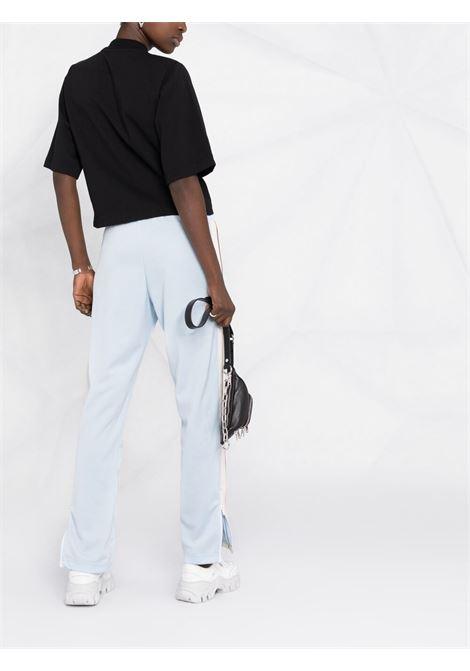 Pantalone blu/bianco PALM ANGELS | PANTALONI | PWCA035S21FAB0014401
