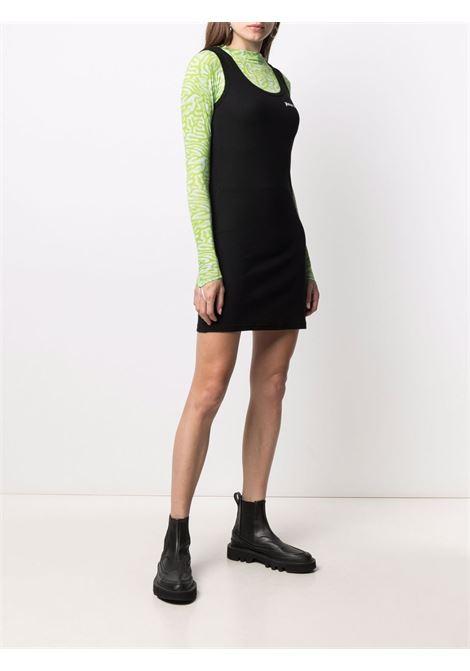 Black dress PALM ANGELS | DRESS | PWDB108S21FAB0011001