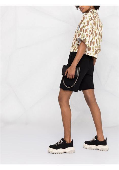 Camouflage shirt PALM ANGELS | SHIRTS | PWGB008S21FAB0036101