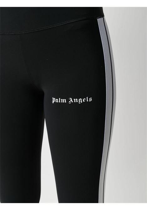 Leggins nero PALM ANGELS | LEGGINGS | PWVG001S21FAB0021001