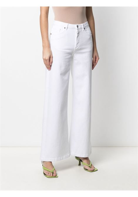 Jeans bianco P.A.R.O.S.H. | CABAREXYD231450001