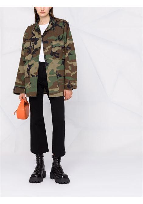 Green jacket P.A.R.O.S.H. | JACKETS | COMMANDOXD430818Z813