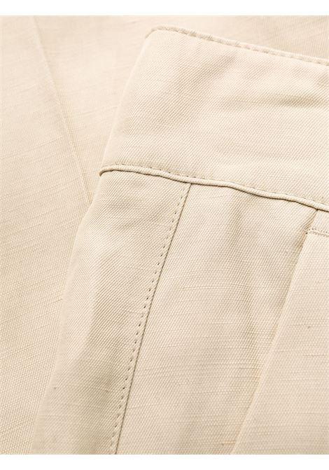 Pantalone beige P.A.R.O.S.H. | PANTALONI | RAISAD231021004