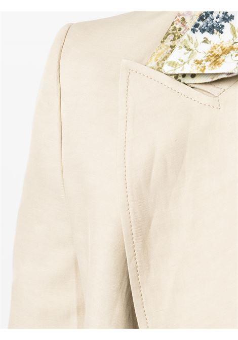 Giacca beige P.A.R.O.S.H. | GIACCHE | RAISAD420101004