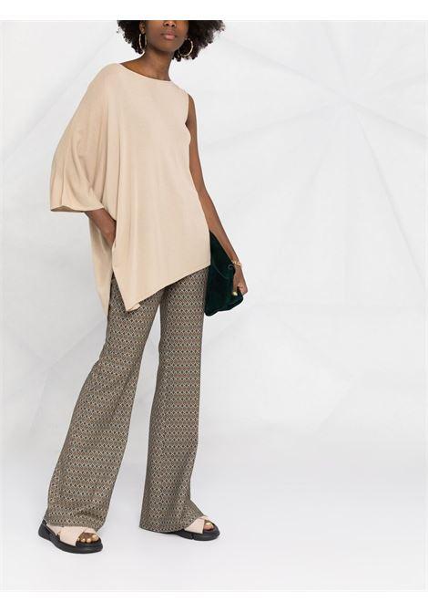 Beige blouse P.A.R.O.S.H. | BLOUSE | ROIBOSD540540004