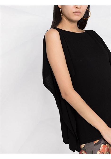 Black blouse P.A.R.O.S.H. | BLOUSE | ROIBOSD540541013