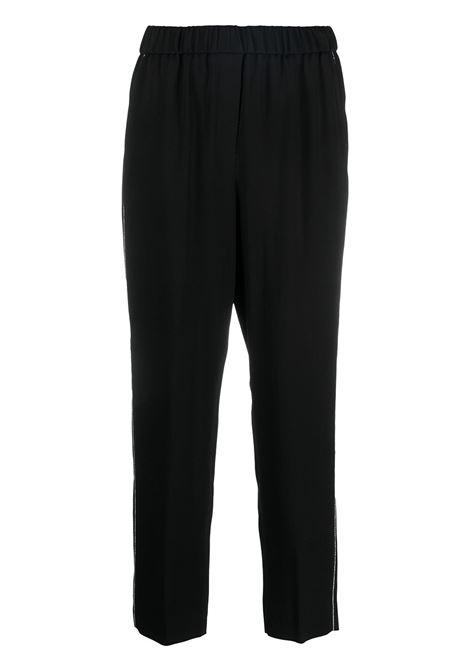 Pantalone nero PESERICO | PANTALONI | P0457206087005