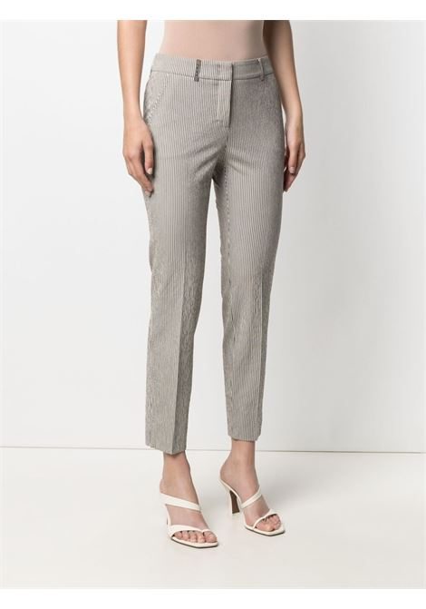 Black/white trousers PESERICO | TROUSERS | P0471807619952