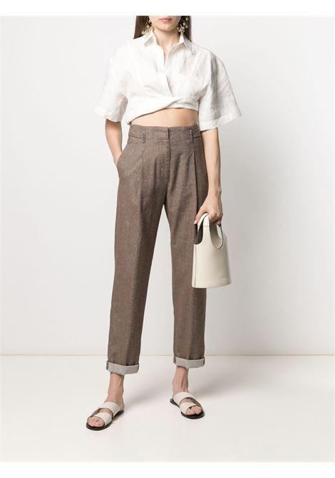 Pantalone marrone PESERICO | PANTALONI | P04888L102482951