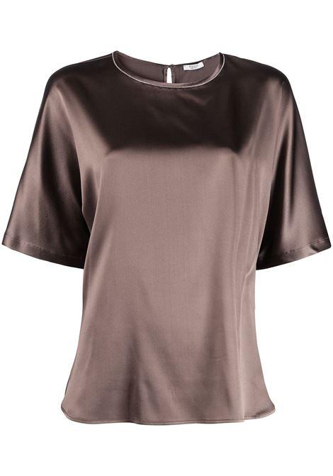T-shirt marrone PESERICO | T-SHIRT | S0693002372151