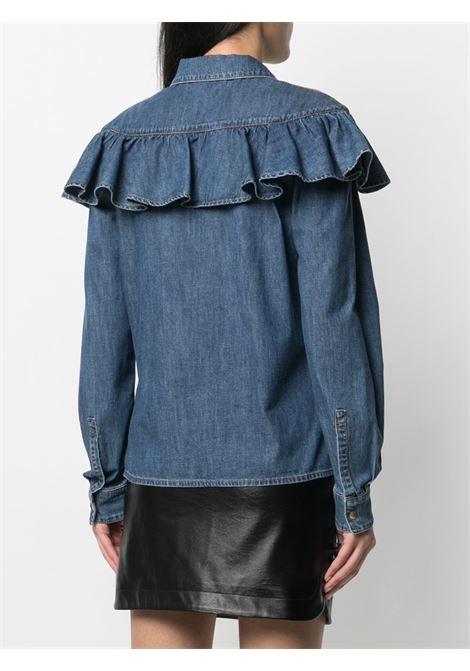 Camicia blu PHILOSOPHY di LORENZO SERAFINI | CAMICIE | 0217731290