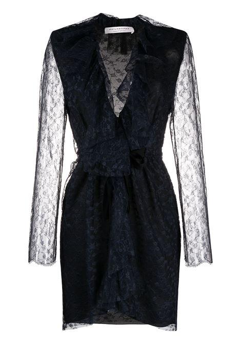 Blue dress PHILOSOPHY di LORENZO SERAFINI |  | 0436717290