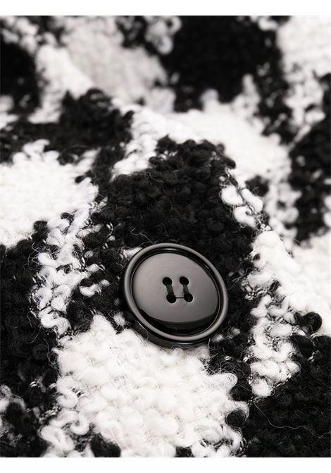 Cappotto nero/bianco PHILOSOPHY di LORENZO SERAFINI | CAPOSPALLA | 06067351002