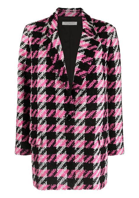 Cappotto rosa/nero PHILOSOPHY di LORENZO SERAFINI | CAPOSPALLA | 06067501555