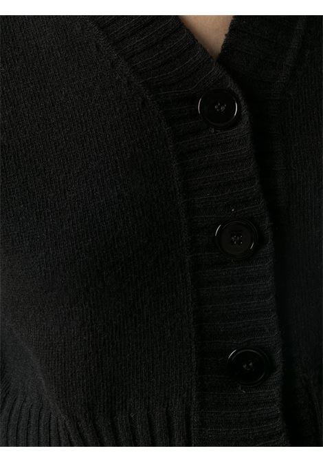 Cardigan nero PHILOSOPHY di LORENZO SERAFINI | CARDIGAN | 0882702555